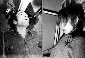 Ο Μπάαντερ και η Ένσλιν όπως βρέθηκαν στα κελιά τους